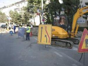 Culmea incompetenţei: Strada Tipografiei rămâne închisă pentru că nu sunt materiale
