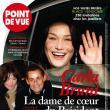 Carla Bruni, noua prietenă a preşedintelui francez?