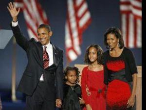 Barack Obama primul preşedinte de culoare al Statelor Unite. Foto: REUTERS