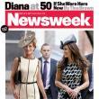 Prinţesa Diana, imaginată de o revistă la 50 de ani: Prietenă pe Facebook cu Camilla Parker-Bowles şi ameninţată de faima lui Kate Middleton