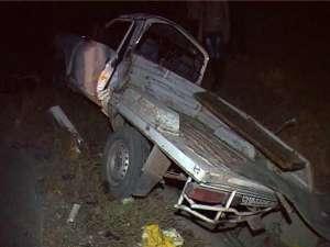 Dacia Papuc a fost proiectată în şanţul de la marginea şoselei