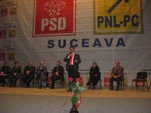 Parlamentarii şi liderii PSD Suceava şi-au declarat susţinerea faţa de Ovidiu Donţu