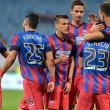 Formaţia Steaua a terminat la egalitate, sâmbătă seară, în deplasare, scor 1-1, cu echipa Corona Braşov  FOTO: Răzvan Păsărică