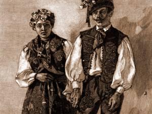 Miri Maghiari din Dorneşti – desen de Julius Zalaty Zuber (1867-1918)