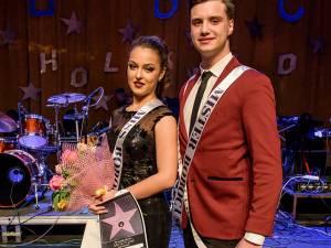 Miss și Mister Boboc USV -  Anca Dumitrean și Robert Catargiu