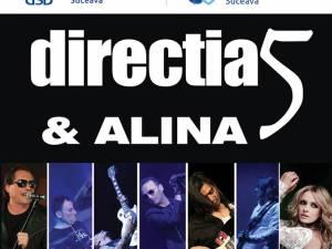 Direcţia 5 concertează miercuri la Suceava