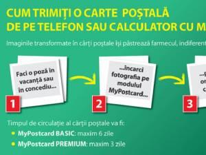 Poşta Română a lansat serviciul MyPostcard