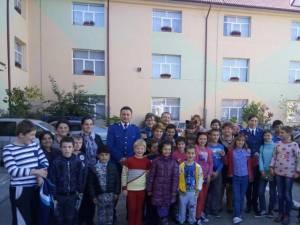 Activităţi preventiv-educative pentru elevii de la Centrul Şcolar pentru Educaţie Incluzivă Suceava