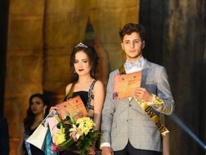 Miss şi Mister Boboc USV 2017 - Sanda Glandaniuc şi Lucian Apopei