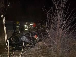 O femeie și-a pierdut viața, într-un grav accident produs de soțul băut al acesteia
