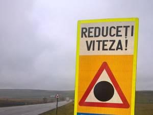 Mai multe indicatoare punct negru au fost amplasate pe drumurile naţionale, ca semnal de alarmă pentru şoferi