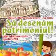 """""""Să desenăm patrimoniul"""", proiect educaţional pentru elevi, la Cetatea de Scaun"""