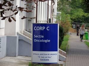 Oncologia, una dintre secțiile închise de vineri până marţi