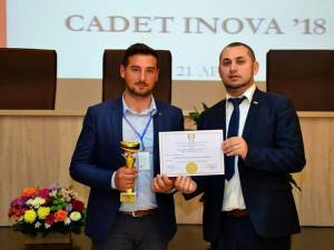 """USV a câștigat Marele premiu al juriului la expoziția de inventică """"Cadet Inova"""", de la Sibiu"""