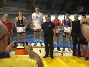 Bogdan Pop, alături de antrenorul Valerică Gherasim
