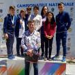 Antrenorul Ştefan Buiucliu alături de sportivii săi