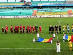 Stadionul Areni a găzduit meciul dintre selecţionata Nord-Est a României şi cea a Republicii Moldova
