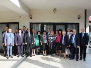 Reuniunea Consorțiului Universităților din Republica Moldova, România și Ucraina, la Vatra Dornei