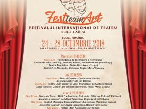 """Trupa """"Birlic"""" participă la Festivalul Internaţional de Teatru """"Fest Team Art"""" de la Lugoj"""