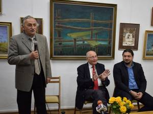 """Vernisajul expoziţiei aniversare """"'70 Gabrel Baban"""""""