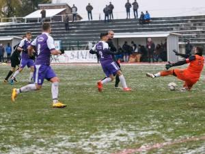 Iulian Ionesi a marcat singurul gol al întâlnirii. Foto Codrin Anton