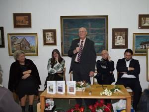 """Serata literară Grigore Ilisei 75 – Lansarea trilogiei româneşti """"Palimpseste regăsite"""""""