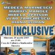 """Spectacolul de teatru """"All Inclusive"""", miercuri, la Casa de Cultură a Sindicatelor Suceava"""