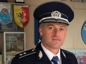 Comisarul Marius Ciotău, preşedintele Corpului Naţional al Poliţiştilor, organizaţia Suceava