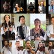 18 instrumentiști și 6 soliști vocali au înregistrat online o piesă folclorică din repertoriul regretatului Alexandru Dumbravă
