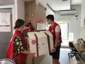 Încă trei nebulizatoare donate de Crucea Roșie către Serviciul Județean de Ambulanță Suceava