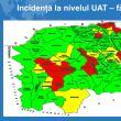 Incidența cazurilor de Covid în fiecare localitate a județului Suceava