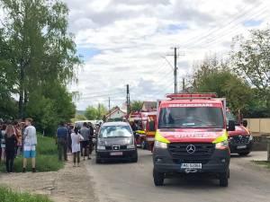 Fetița lovită de mașină la Mitocu Dragomirnei a murit la spital după câteva ore de agonie