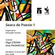 Seara de Poezie 9, cu poetele Olga Ștefan & Ana Pasanciuc, sâmbătă