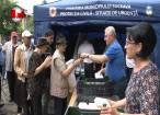 5.000 de sarmale şi sticle cu apă au fost oferite de primarul Ion Lungu pelerinilor veniţi la hramul Sucevei